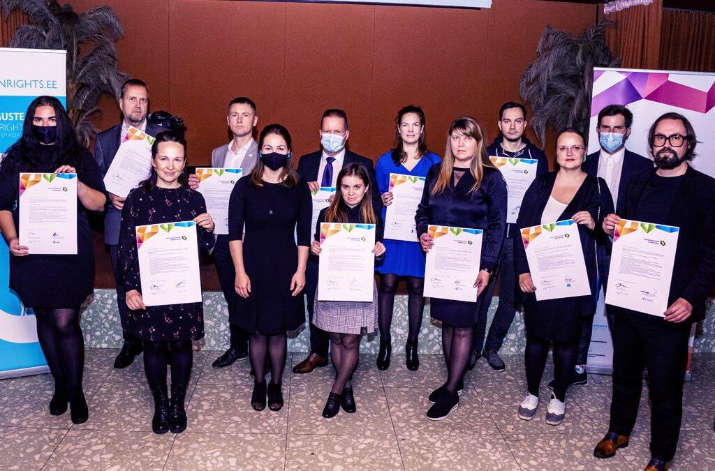 birkle IT tritt der estnischen Charta der Vielfalt bei